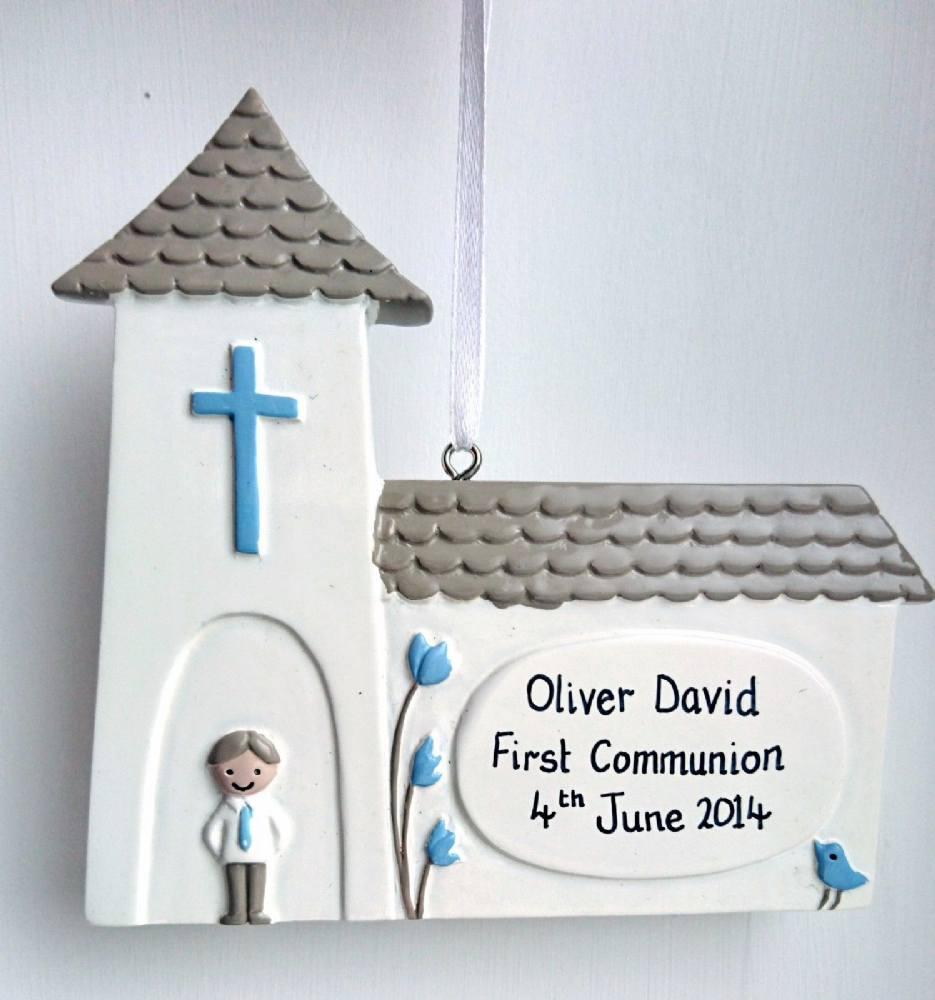 Personalised Church with Little Boy